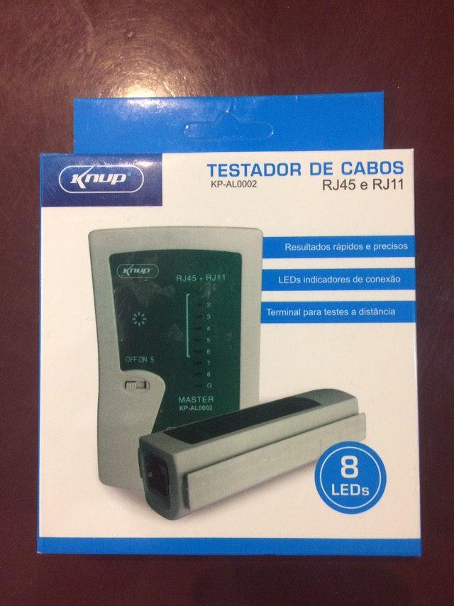 تستر شبکه Testador de Cabos مدل KP-AL0002