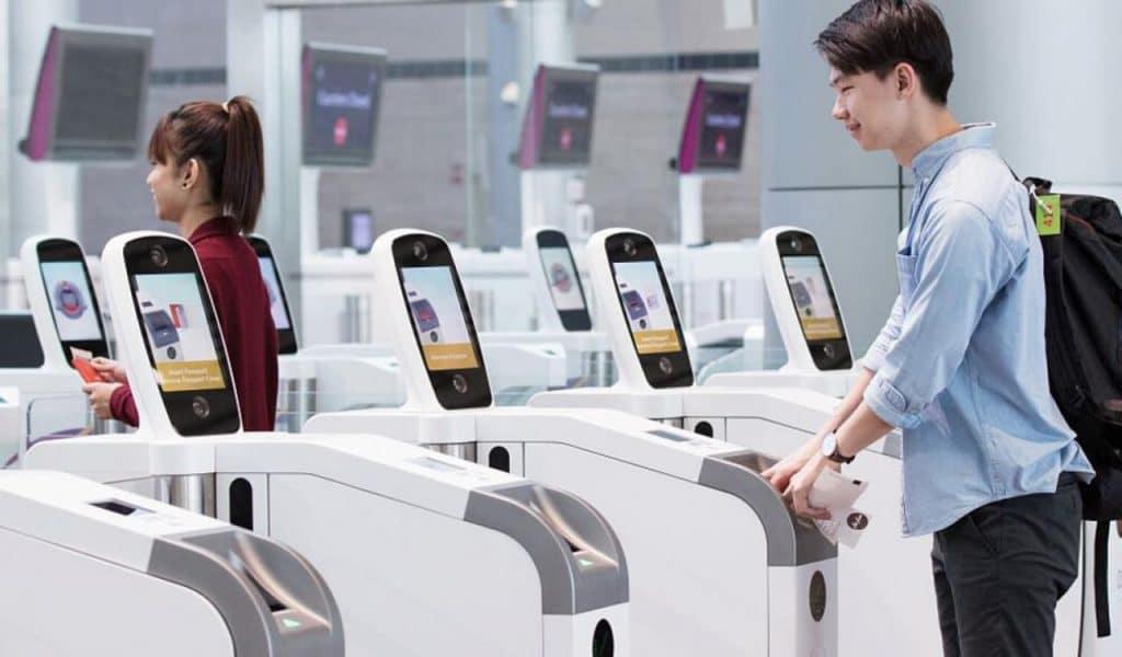 سیستم تشخیص چهره در فرودگاه ها