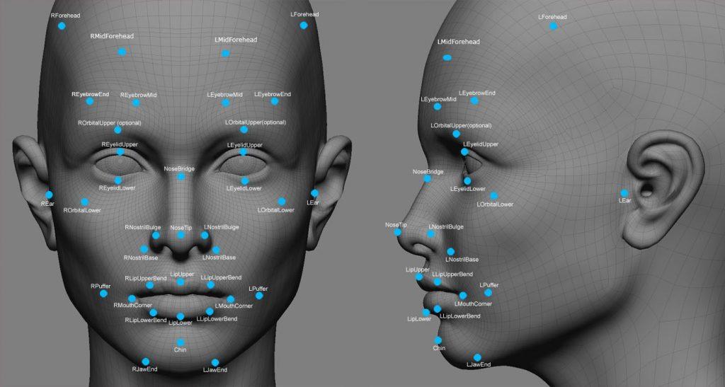نحوه عملکرد سیستم تشخیص چهره