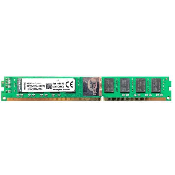 رم کینگستون DDR3 تک کانال  CL11 مدل KVR