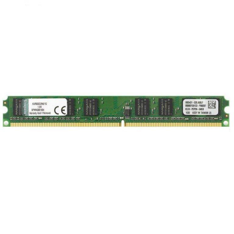 رم دسکتاپ DDR2 تک کاناله 800 مگاهرتز کینگستون ظرفیت 2 گیگابایت