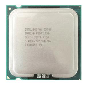 پردازنده اینتل Pentium مدل E5700 try