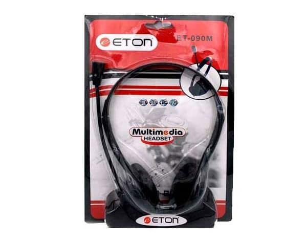 هدست سیمی با میکروفون Eton مدل ET-090M