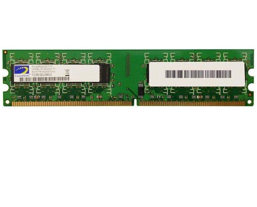 رم دسکتاپ DDR2 تک کاناله 667 مگاهرتز CL5 تواینموس مدل TT8D23KK ظرفیت 1 گیگابایت
