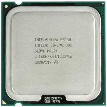 پردازنده مرکزی اینتل سری 2 Core مدل E6550