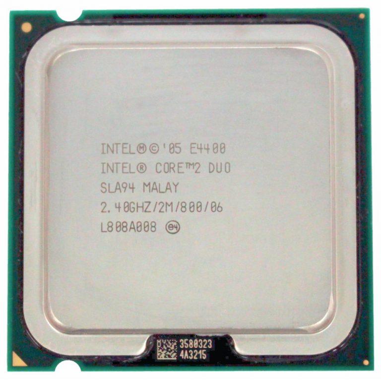پردازنده مرکزی اینتل سری Core مدل E4400